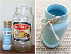 Bertolli alfredo sauce jar into spring decor thelatestfind