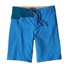 "M's Stretch Hydro Planing Board Shorts - 21"", Andes Blue (ANDB)"