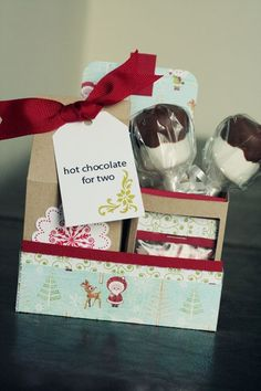 Hot chocolate gift by Superduper