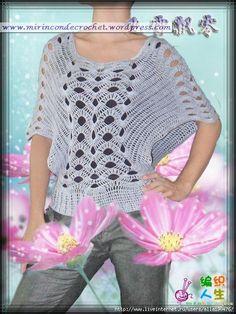 free pattern - Bellisima remera…Una de mis favoritas | Mi Rincon de Crochet