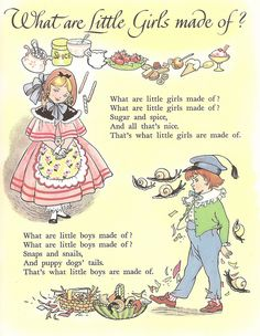 """Hilda Boswell illustration, from her """"Treasury of Nursery Rhymes"""", Collins, undated."""