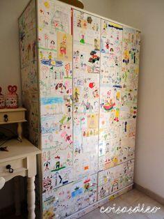 COISASDLEO : CASA DE FADA - o armário da Maria Lúcia