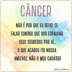 Cancer Sign, Positive Words, In My Feelings, Live Life, True Stories, Virgo, Zodiac Signs, Positivity, Messages