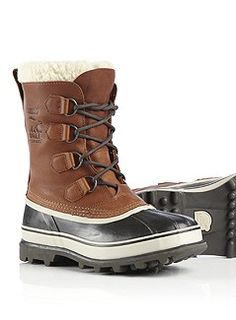 CARIBOU™ WOOL - my new anti-cold/wetfeet boots