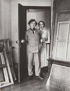Marc et Bella Chagall, Paris, 1933 • André Kertész
