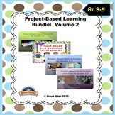 This resource comes complete with 4 project-based learning products. Each PBL includes a compiled list of 15 activities / assignments that your students will definitely enjoy. This is NOT a series of lesson plans or a unit plan. The purpose here is for children to construct their own learning by deciding themselves how to best accomplish activity goals.