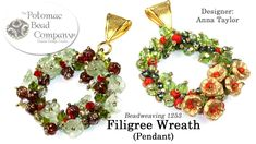 Filigree Wreath Pendant (DIY Tutorial)