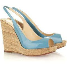 Christian Louboutin wedge jean paul 120 sandals