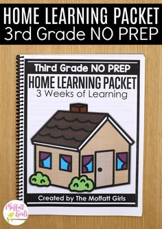 During this time, where parents are scrambling to gather quality resources to educate their kids at home, I have created Home Learning Packets with 3 Kindergarten Lesson Plans, Homeschool Kindergarten, Kindergarten Reading, Preschool Classroom, Homeschooling, Kindergarten Worksheets, Classroom Resources, Classroom Ideas, Core Learning