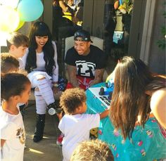 Tyga and Blac Chyna may be not be together anymore but there still maintain a good relationship for there son King Cairo who is now 2 years old. Yesterday, they celebrated his 2nd birthday with a D...