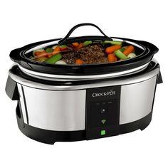 Crock-Pot 6-Quart Smart Slow Cooker Enabled by WeMo