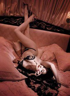 The Dita Von Teese Wonderbra Collection Offers Stylish Support #velvet #fashion trendhunter.com
