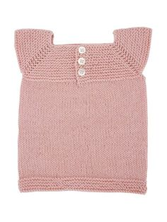Babyundertrøje/-vest (baby) i Fino Organic Cotton+Merino Knitting For Kids, Knitting Projects, Baby Knitting, Baby Kind, My Baby Girl, Baby Barn, Knit Crochet, Chrochet, Baby Outfits
