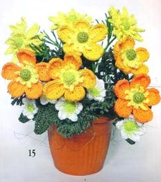 Амигуруми букеты цветов через москвы