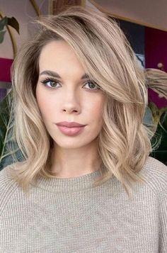 Hair Color For Women, Hair Color And Cut, Hair Cuts And Color Ideas, Hair Cuts For Girls, Bob Hair Color, Hair Ideas, Medium Hair Styles, Curly Hair Styles, Beauty Tips For Hair