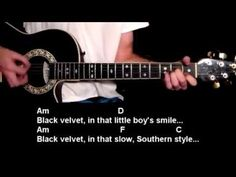 Black Velvet – Alannah Myles – How To Play – Online Guitar Lessons. Check out the hundreds of free beginner guitar lessons at http://www.bestbeginnerguitarlessons.com