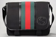 Gucci give the designer messenger bag a sporty twist.