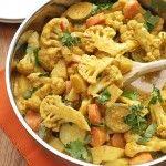 Easy 30-minute vegetable korma curry recipe