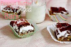 Peanut Butter Rocky Road Bars