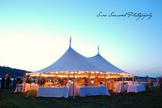 Party under the tent at your Mystic Seaport wedding! Susan Sancomb Photography