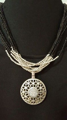 Sabine necklace with Second Act Enhancer from Premier Designs…