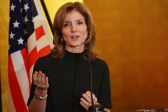 Caroline Kennedy Schlossberg, United States Ambassador to Japan. Caroline Kennedy Schlossberg presented her credentials to Japan's Emperor Akihito this week. She has visited several times (she and her husband honeymooned in the country) she's the first female ambassador from the United States to Japan.