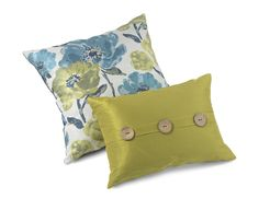 Decorative pillows are a must! They help create a chic but homey look.