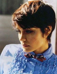 Life made. Shannyn Sossamon in a bow tie. xoxo, GIABT