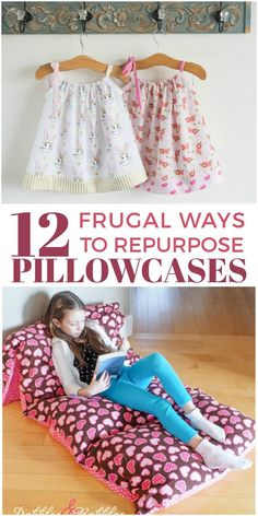 Chances are you've accrued quite a few pillowcases that you no longer use. And if you don't have any spares, you can easily pick up some old ones at yard sales or thrift stores. Why would you want to? Well, there are just so many ways to repurpose pillowcases! From cute dresses to making cleaning the ceiling fan so much easier, you definitely need to check out these frugal tips. You know how much we love to repurpose and reuse!
