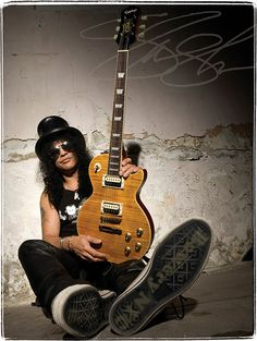 """Epiphone Les Paul, Slash """"Appetite"""" model. Gibson/Epiphone hit a home run with this one. Now to find an amp to match!"""