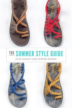 9e04f67a417797 Choose your favorite  summer Plaka sandals!  handmade  sandals  fashion  Hippies