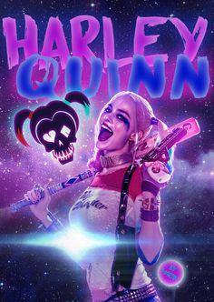 Joker Comic, Harley Quinn Comic, Joker And Harley Quinn, Tikki Y Plagg, Hearly Quinn, Harley Quinn Drawing, Margot Robbie Harley Quinn, Cute Disney Wallpaper, Cute Wallpapers