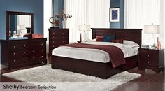 Shelby Bedroom Collection - Cpstco