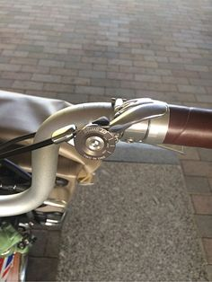 DT swiss lever application on Brompton