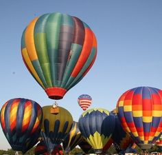 Go to the Gulf Coast Hot Air Balloon Festival with dad | Foley, AL