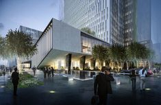 Ennead Architects Announces Plans for New Tech District in China,Courtesy of Ennead Architects