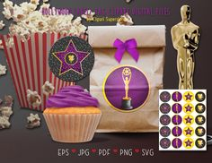 Digital Stamps, Digital Scrapbooking, Silhouette Cameo Free, Cupcake Toppers, File Image, Party Items, Vector File, Charity, Banner