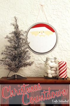 Santa's Christmas Countdown - A Tried & True Project for Crafts Unleashed