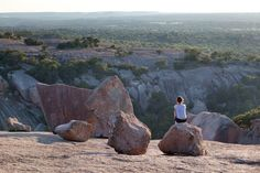 San Antonio is surrounded by quaint towns that are ideal for quick day trips or romantic getaways. Texas Roadtrip, Texas Travel, Travel Usa, One Day Trip, Day Trips, Visit San Antonio, Enchanted Rock, Hiking Places, Road Trip Hacks