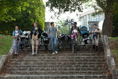 Dudes group - the only costumes where it's acceptable to strap a beer cooler on the back of your kid's stroller. Test Quiz, Movie Halloween Costumes, Beer Cooler, Hits Movie, Tv Series, Bicycle, Movies, Group, Film