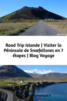 Que visiter dans la Péninsule de Snaefellsnes ? Voici mon road trip en 7 étapes sur une journée pour découvrir l'Ouest de l'Islande.#islande #roadtrip #snaefellsnes Travel Photographie, Destinations, Voyage Europe, Destination Voyage, Photos Voyages, Blog Voyage, Voici, Mountains, Water