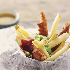 Here we have the British finalist's tapa, a classic done with the flare and humour of the English! Fish 'n' Chips Tapas Style by Mandy Mason