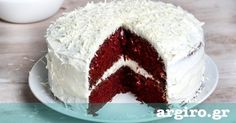 How to make Quick Red Velvet Cake Red Velvet Cake Mix, Red Cake, Sweet Recipes, Cake Recipes, Dessert Recipes, Greek Sweets, Cake Youtube, Yummy Cakes, Vanilla Cake