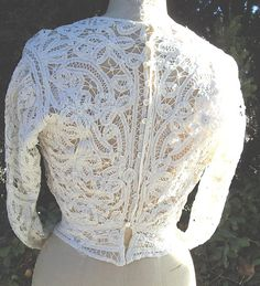 Reduced Original Victorian Battenberg Lace by bushnellfashions