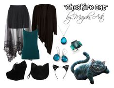 Based on the 'Cheshire Cat' from Alice in Wonderland Disney Character Outfits, Disney Princess Outfits, Disney Themed Outfits, Character Inspired Outfits, Cheshire Cat Tim Burton, Cheshire Cat Costume, Cute Halloween Costumes, Cat Costumes, Costume Ideas