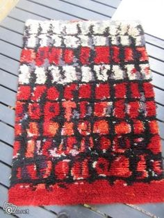 Rya Rug, Wool Rug, Birches, Rug Ideas, Seas, Finland, Weaving, Carpet, Quilts