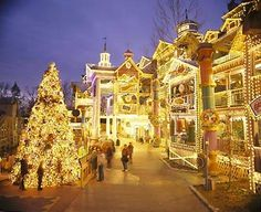 Silver Dollar City during their Old Time Christmas Festival.