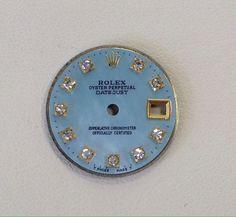 Ladies Rolex DateJust Diamond Dial Blue Mother Of Pearl #Rolex