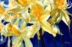 Flower painting Marney Ward