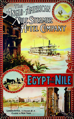 Vintage Advert of Cruise on Nile Steamer
